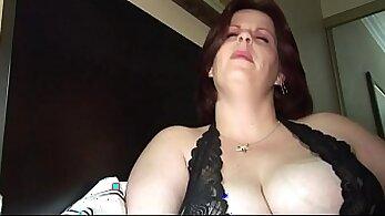Chubby Milf Rides On Bilders Classy Lovense Video