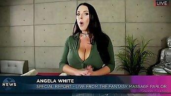 Angela White Returns to Porn