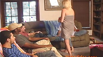 Cheating sexy mom orgy