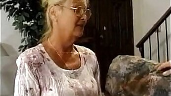Curve granny Kendra fucked by the son from the law