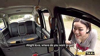Black Taxi Driver Fucks Filipina Mexican Chick