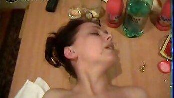 Russian mature naughty sucking
