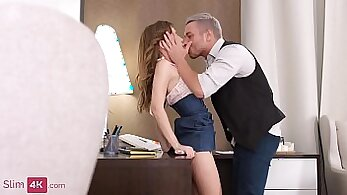 Adorable brunette bitch Vanessa Lynne gets it the ass