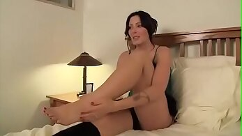 Busty stepmom rides and sucks a big cock