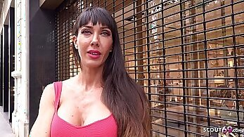 Big boobed milf casting and fucked by fraud money