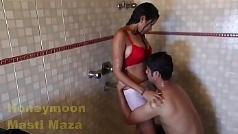 Busty Indian Teen Banged in Shower