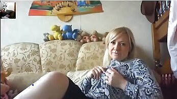babe gets gangbanged stepmama mom xxx Russian Amateur Takes it Like a Pro