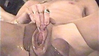 CD enjoying facefuck with buttplug and slow squirt