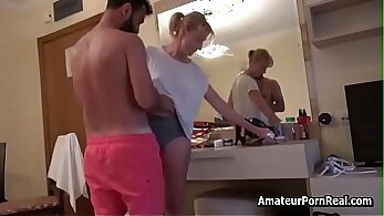 Amateur mature wife busted by husband