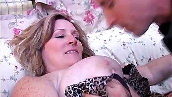 BBW Mature With Amazing Boobies Fucked On Sofa
