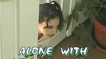 Alluring raven haired slut with pigtails Candi Dewine gets her backdoor slammed